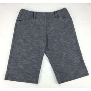 IZ Byer Womans Size 11 Blue Bray Bermuda Shorts